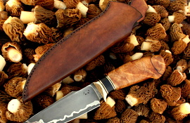 Hunting kitchen knife