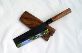 Usuba 170mm, Upgraded, Octagon handle, Left