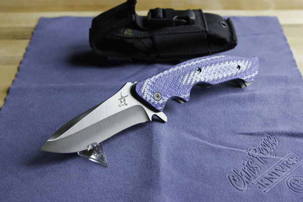 Greg Lightfoot - Full Contact Fighter Custom Knife (2/7)